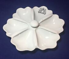 Edwardian Bridgewood Ceramic Sectioned Bar Dish From Clacton Beaumont Hall Hotel