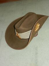 RAAF SLOUCH HAT WITH  PUGGAREE BY MOUNTCASTLE WITH BADGES C 2009