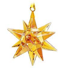 Nib $79 Swarovski 3D Star Ornament Golden Shadow #5064260