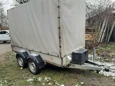 Tandemanhänger, 2.000 kg zGG. mit Plane und Spriegelgestell