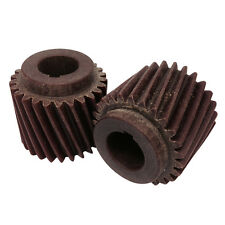 "2 X Fibre Motor Pinion Gear For Crypto Peerless C28 Potato Peeler 3/4"" Shaft."