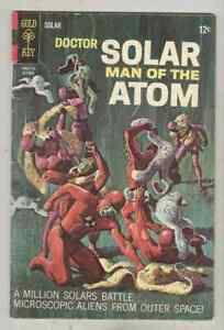 Doctor Solar #21 October 1967 VG