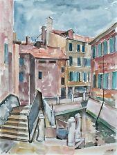Sonja Wüsten - Venedig - Aquarell - 1996