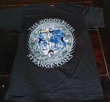 Moody Blues Strangetimes Shirt Vintage But New Xtra Large Black