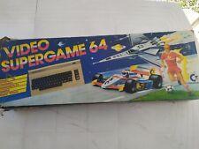 Commodore 64-Video Super Game-Alimentatore- In scatola originale - Giochi vari
