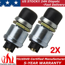 2x 20A 12V Waterproof Car Auto Boat Track Switch Push Button Horn Engine Starter