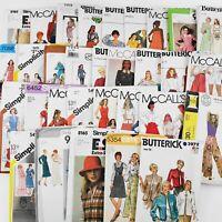Vintage Lot of 38 UNCUT 70s 80s Ladies Sewing Patterns Simplicity GUNNE SAX