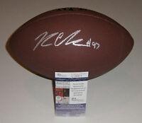PACKERS  Kenny Clark signed football w/ #97 AUTO JSA COA Autographed Green Bay