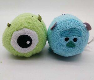 Disney Store Monsters, Inc Mike Wazowski  Sulle Plush Toy Tsum Tsum Mini Plush