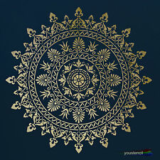 Mandala  Wall Stencil : Large:  For Walls, Furniture and Art:  ST71
