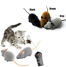 Electric Mice Remote Control Rat Mouse Toy For Cat&Rats Tom and Jerry Funny Play