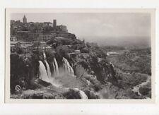 Tivoli Panorama Con Cascatelle 1935 RP Postcard 848a