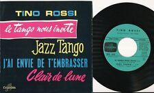 TINO ROSSI EP FRANCE JAZZ TANGO