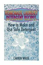 Essential Oils Book: Homemade Laundry Detergent Recipes: How to Make and Use...