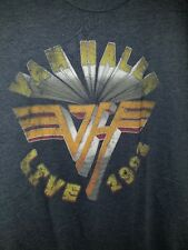 Van Halen T-Shirt Live 1992 officially licensed New old Stock mens medium