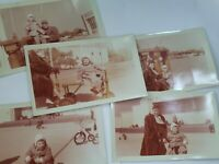 Vintage 1950s Photos Grandmother grandfather granddaughter Photographs Europe