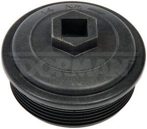 Ford 6.0L Powerstroke Fuel Filter Cap, Dorman 904-209, Lifetime Warranty