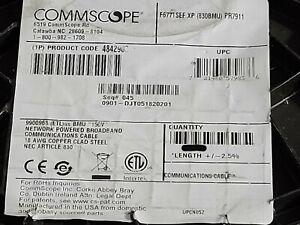Commscope F677TSEF RG-6 Tri-Shield BCCS Gel-Filled Coaxial Drop Cable RG6 /100ft