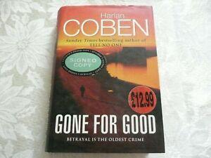 """HARLAN COBEN """"Gone For Good"""". *SIGNED*. 1st/HB/2002.(S14)"""