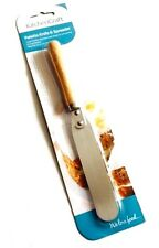 NEW Kitchen-Craft Palette Knife Stainless Steel Flat 22cm