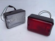 LAND ROVER DEFENDER 90/110/130 1980-2002 REAR REVERSE LIGHT LAMP PRC7263+PRC7254