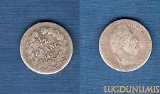1/2 Franc Louis-Philippe Ier 1837 A Paris B / TB