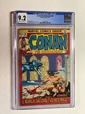 Conan the Barbarian 20 cgc 9.2 ow/w pages marvel bronze age