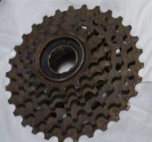 Vintage SHIMANO Japan MF-Z012 Freewheel 14-30T 6S 6 Speed MTB ISO