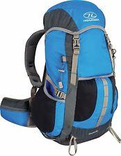 azul y Gris Cascada 28l LIGERO MOCHILA - CAMPING Hill Caminar
