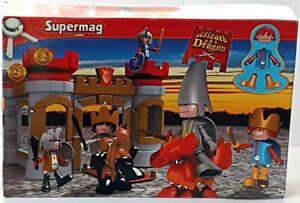 Supermag Ritterburg Burg Drachen  Wizard & Dragon 0439 ab 2 Jahre
