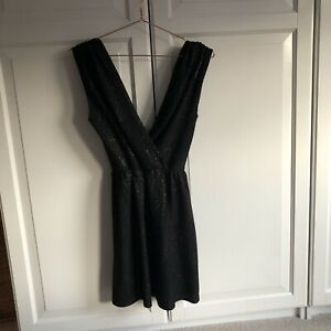 oh my love dress Topshop Gold And Black Size s Small