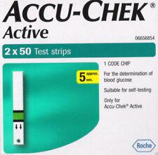 Accu-Chek Active | 1 Code Chip | 5 X 100 Test Strips