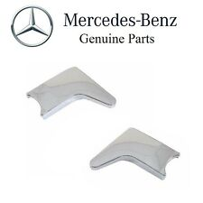 Mercedes Set of Left & Right Lower Seat Hinge Covers OES 1079131328 1079131428