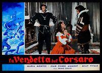 T91 Fotobusta The Vendetta Del Corsair Maria Montez Jean Pierre Aumont Milly 3