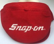 a09d9cb6bd0 Snap-on snapback newsboy cap hat K Products brand Red Corduroy Vintage Rare
