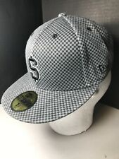 SUPREME NEW ERA 59FIFTY HAT 7 1/4 FITTED NEW YORK BOX LOGO CHECKERED