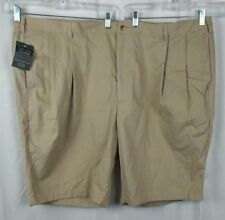 "NWT Jos A Bank Traveler's Collection Men's Pleated Front Shorts 52 51""W x 11.5""L"