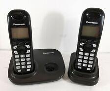 Panasonic KX-TG7301E Dual Twin Cordless Phone with Power Supply  KX-TGA7301E