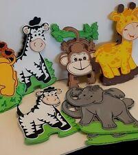 10 Baby Shower Safari Party Supplies Girl Boy Favors Jungle Decoration Foam Big