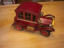 Vintage Tin Toy Grandpa Car Battery Operated Japan Trademark Y