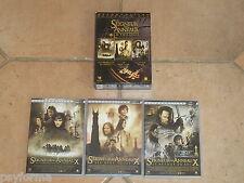 Coffret 3 DVD LE SEIGNEUR DES ANNEAUX / la Trilogie / Excellent état !!!