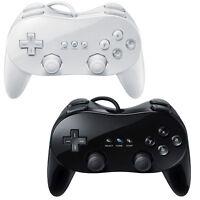 MANDO PRO CONTROL REMOTO GAMEPAD CLÁSICO GAMEPAD FOR NINTENDO Wii Black Y White