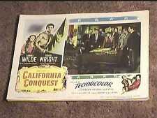 CALIFORNIA CONQUEST 1952 LOBBY CARD #7 WESTERN CORNEL WILDE