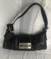 XOXO black faux leather handbag - N