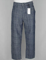 HERREN LEVI'S MADE & CRAFTED DRAFT TAPER HOSEJEANS JEANS W32 NEU PLAID CROPPED
