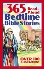 Bedtime Bible Story Book 365 Readaloud Stories from the Bible, New