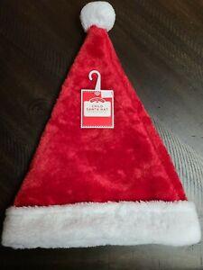Children's Plush Santa Hat for Child
