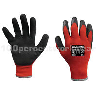 Scan Waterproof Latex Gloves Size 9 Large Garden Clothing & Gear