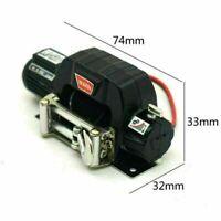 1:10 Seilwinde Winch für Traxxas TRX-4 Axial SCX10 D90 D110 TF2 TRX4 KM2 RC Auto