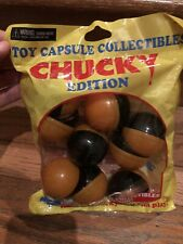 NEW FACTORY SEALED NECA TOY CAPSULE HORROR CHUCKY CHILDS PLAY HTF NLA EXCLUSIVE!